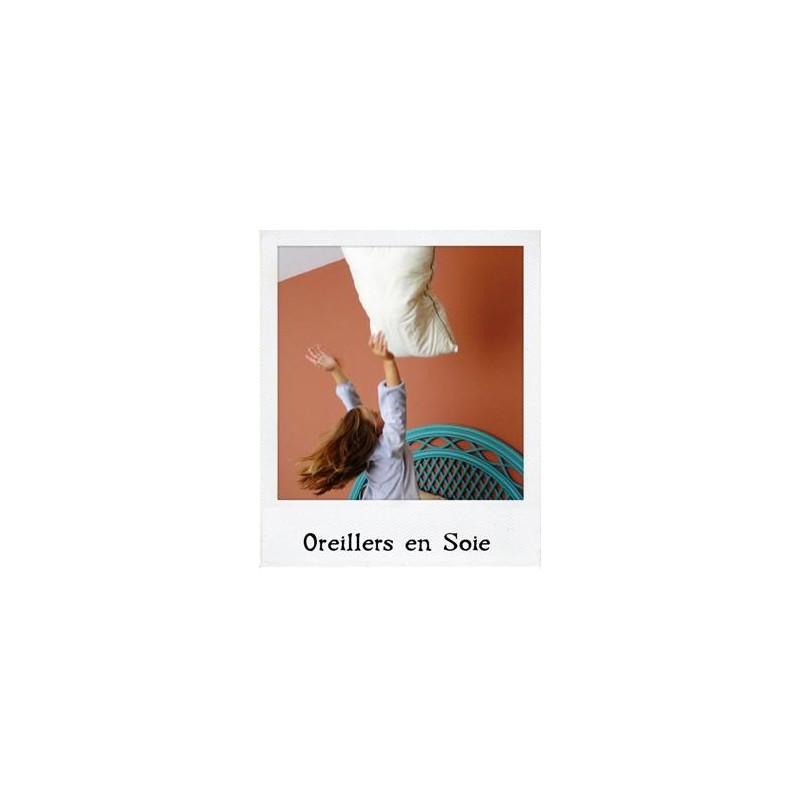 oreiller en soie housse de coussin taie duoreiller soie. Black Bedroom Furniture Sets. Home Design Ideas