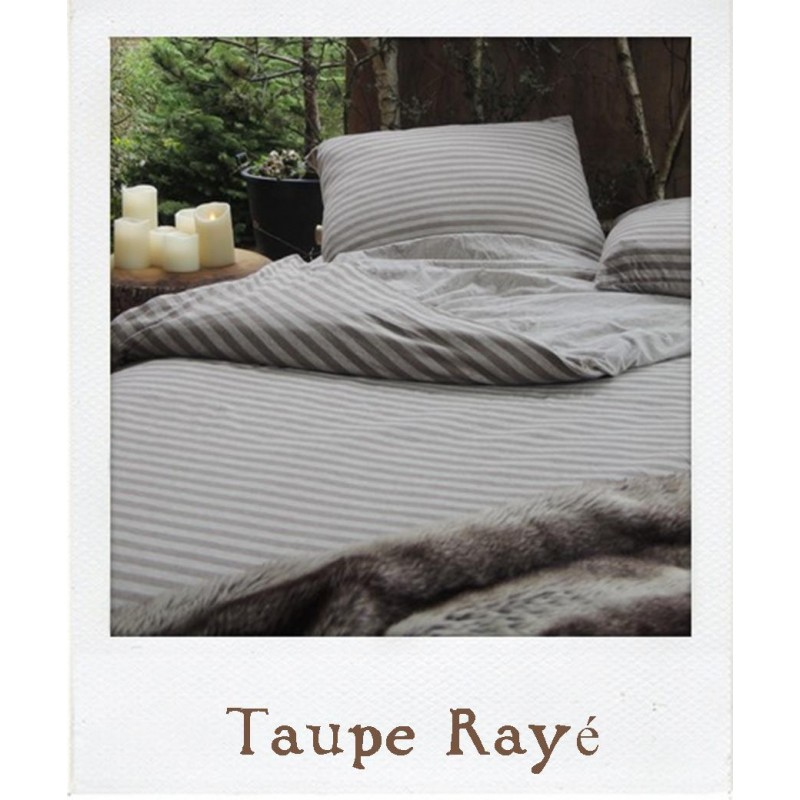 housse de couette grise en jersey waiting for alice. Black Bedroom Furniture Sets. Home Design Ideas