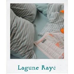 Jersey Bed Linen - Lagoon Stripe