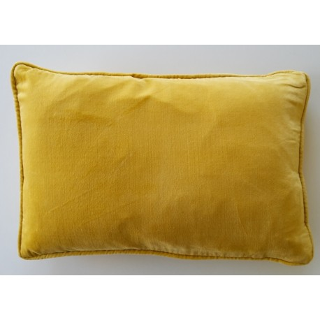 yellow Velvet Cushions